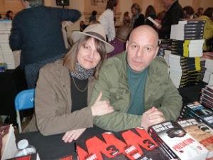 Jérôme Camut et Nathalie Hug